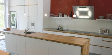 Umbau Architektenhaus, Erweiterung Wohnraum und Küche